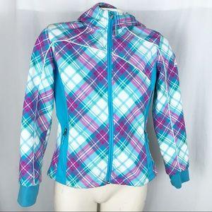 SNOZU girls softshell fleece jacket